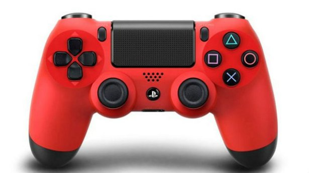 DualShock 4 red