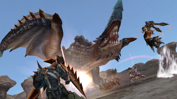 Monster Hunter Frontier G выйдет на PS Vita