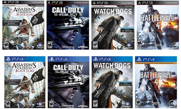 PS3-PS4 games