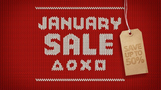 Январская распродажа
