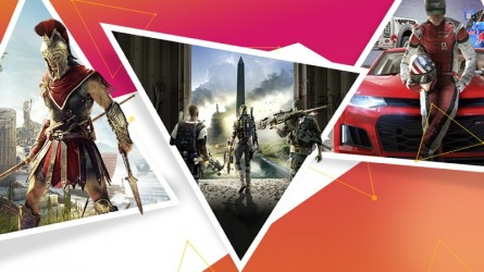 Распродажа игр Ubisoft в PS Store — Скидки на Assassin's Creed Odyssey, Tom Clancy's The Division 2, The Crew 2 и другое