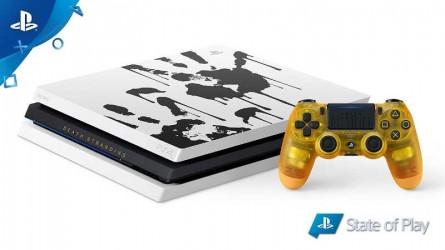 Лимитированное издание PS4 Pro в стиле Death Stranding