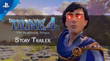 Сюжетный трейлер Trine 4: The Nightmare Prince
