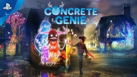 Новый японский трейлер Concrete Genie