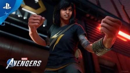 Трейлер Marvel's Avengers — Камала Хан