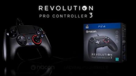 Revolution Pro Controller 3 — Новый геймпад для PS4 от Nacon