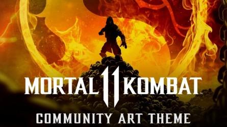 В PlayStation Store появилась тема Mortal Kombat 11 для PS4