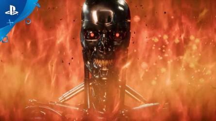 Трейлер Mortal Kombat 11 — Terminator T-800