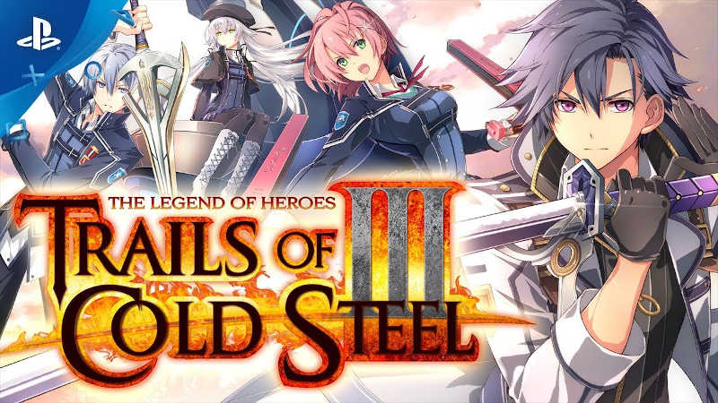 Релизный трейлер The Legend of Heroes: Trails of Cold Steel III