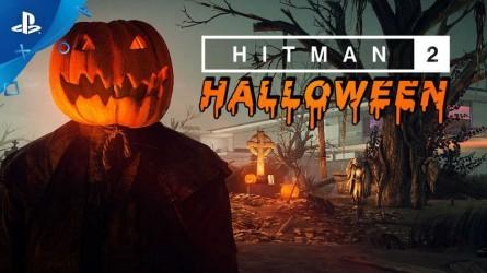 Хэллоуин добрался и до Hitman 2