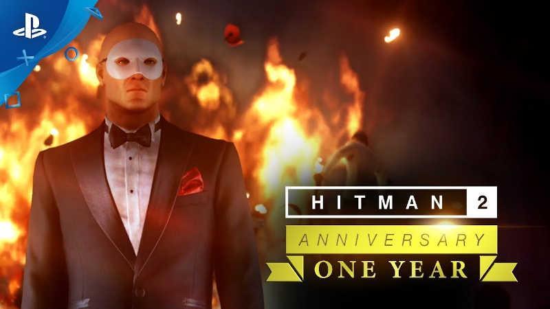 Трейлер годовщины Hitman 2