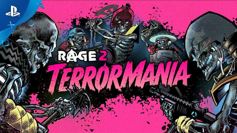 Релизный трейлер Rage 2 – TerrorMania