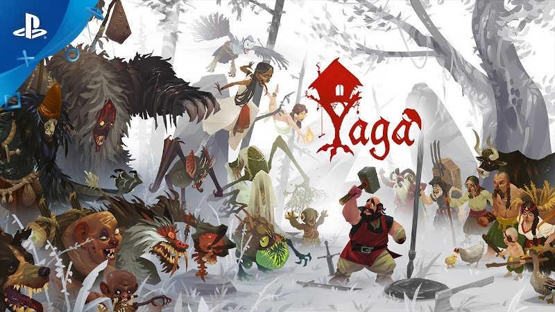«Славянское» экшн-RPG Yaga вышло на PS4