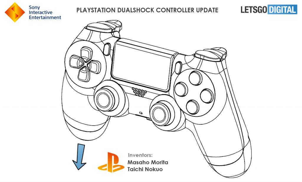 Патент нового контроллера DualShock