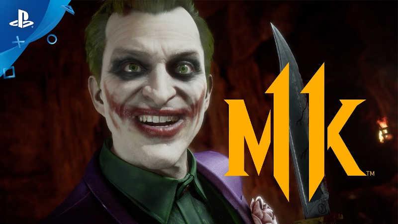 Трейлер Mortal Kombat 11 — Джокер