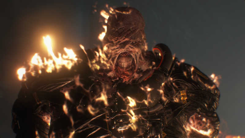 Новый трейлер Resident Evil 3 — Немезис