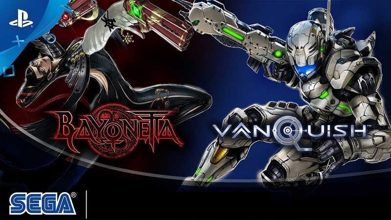 Релизный трейлер Bayonetta и Vanquish для PS4