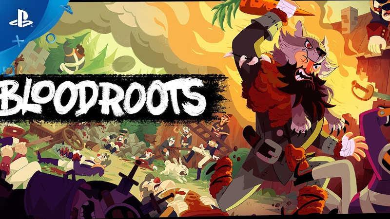 Динамичный экшен Bloodroots, вдохновленный Hotline Miami и Samurai Jack, готовится к выходу на PS4