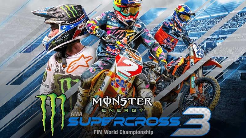 Релизный трейлер Monster Energy Supercross 3