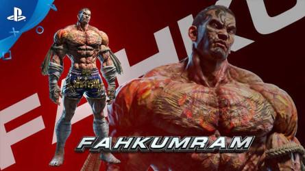 Факумрам готовится к боям в Tekken 7