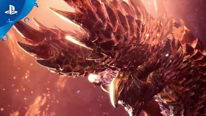 В мае дракон Алатреон доберется до Monster Hunter World: Iceborne