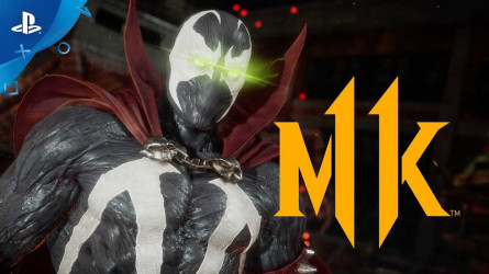 Новый геймплейный трейлер Mortal Kombat 11 — Спаун