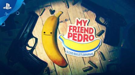 Дата выхода и геймплейный трейлер My Friend Pedro для PS4