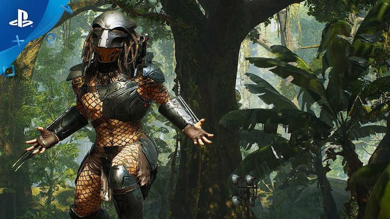 27 минут геймплея Predator: Hunting Grounds