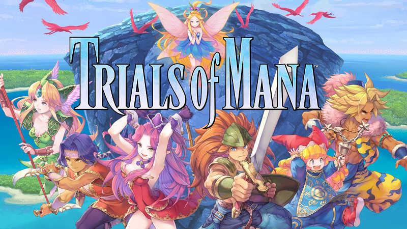 Геймплейный трейлер Trials of Mana для PS4