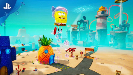 Геймплейный трейлер SpongeBob SquarePants: Battle for Bikini Bottom — Битвы с боссами
