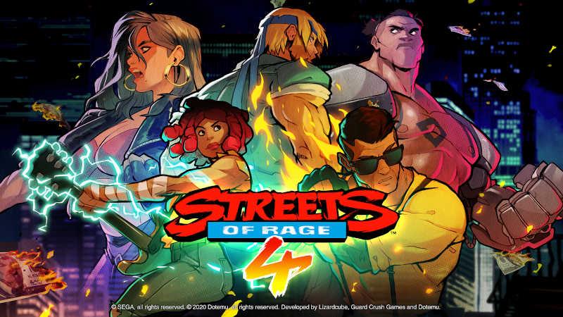 Релизный трейлер Streets of Rage 4