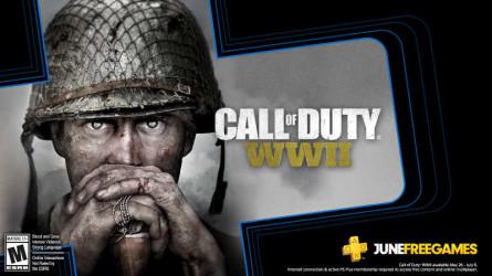 Шутер Call of Duty: WWII доступен для бесплатного скачивания пользователям PS Plus