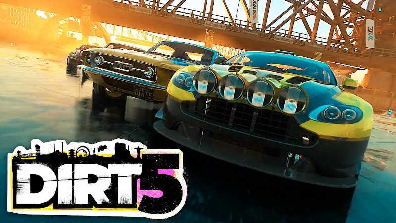 Новый геймплейный трейлер DIRT 5 — Сплит-скрин на четырех человек, новые трассы и возвращение Джимханы