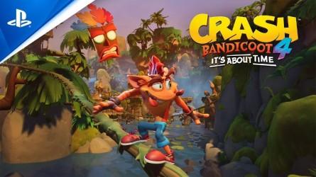 Crash Bandicoot 4: It's About Time готовится к выходу на PS4