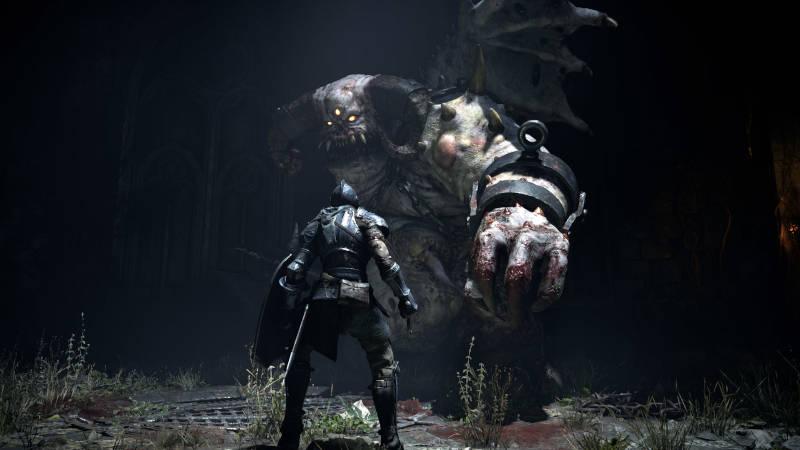 Первые скриншоты ремейка Demon's Souls для PS5
