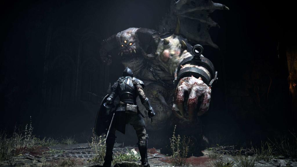 скриншоты ремейка Demon's Souls для PS5