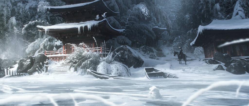 Концепт-арты Ghost of Tsushima