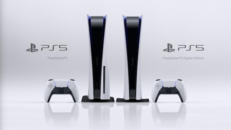 Внешний вид PlayStation 5