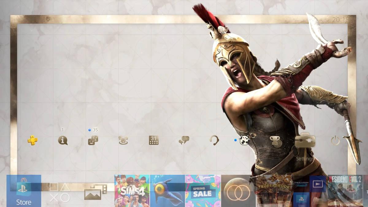 Assassin's Creed® Одиссея Dynamic Theme