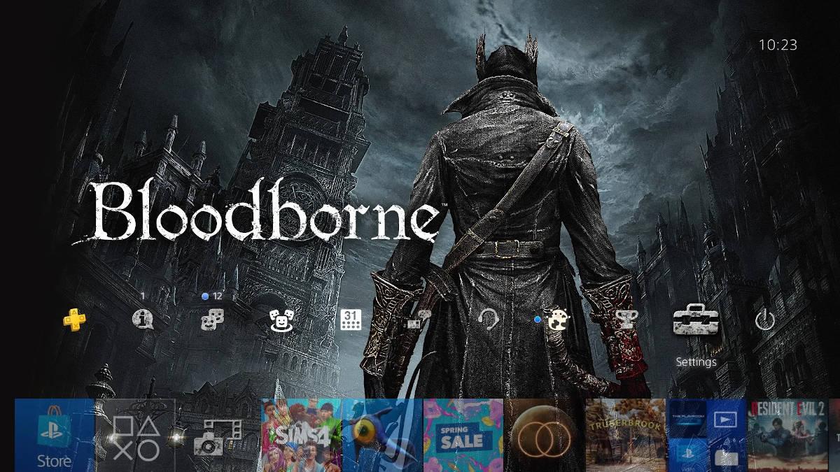 "Тема ""Город Ярнам из Bloodborne"