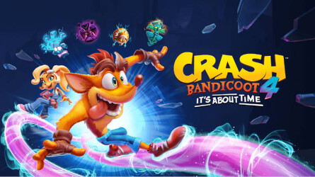 Смотрим геймплей Crash Bandicoot 4: It's About Time от PlayStation Access