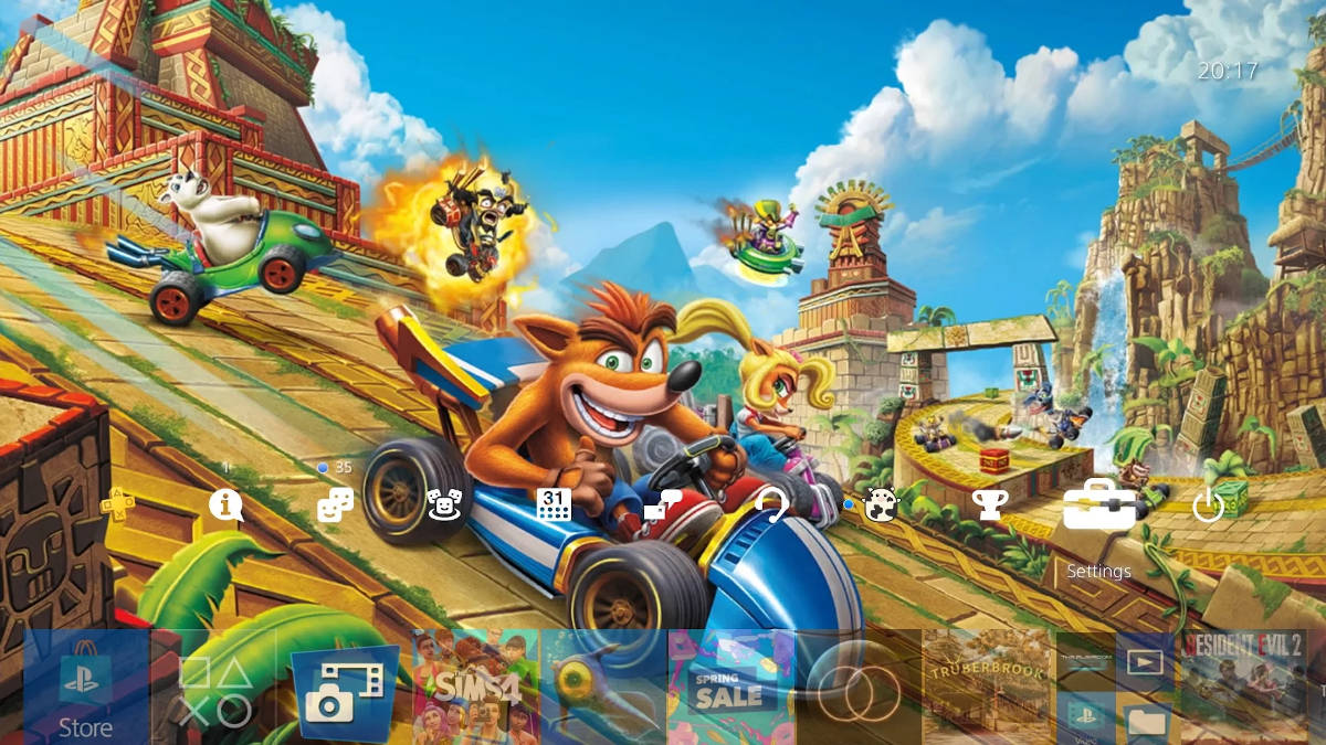 Crash Team Racing Nitro-Fueled - тема 'Гонка началась'