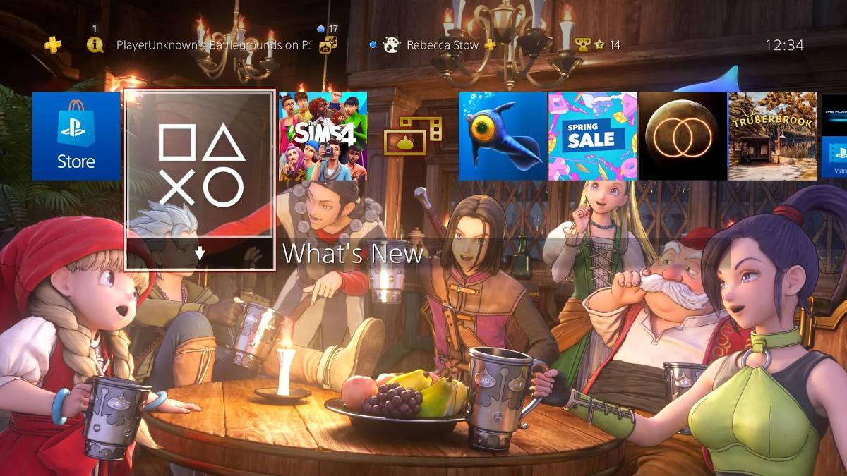 DRAGON QUEST® XI — тема «Команда» и аватары с персонажами