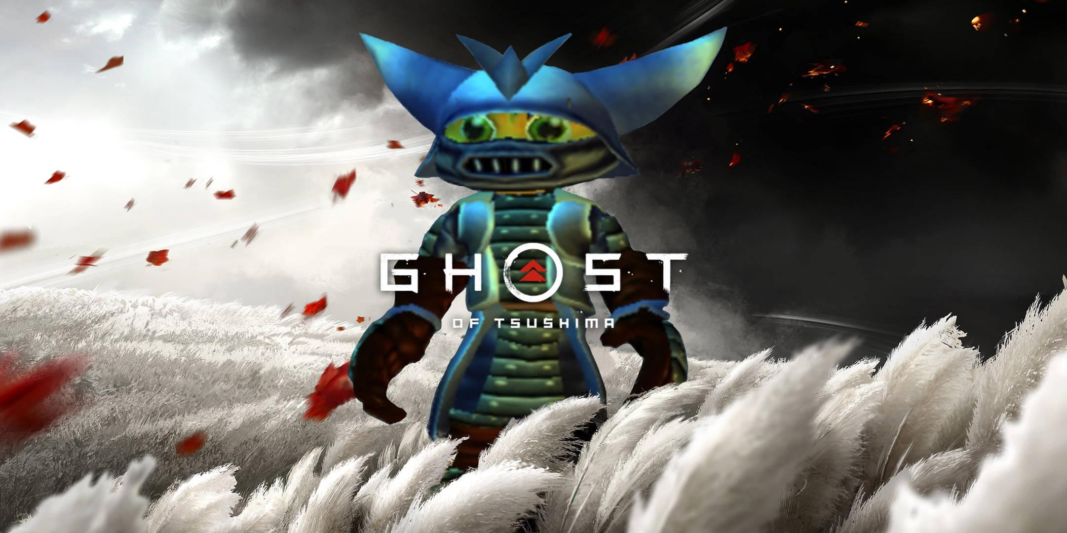 Ghost ofTsushima арт от Insomniac Games