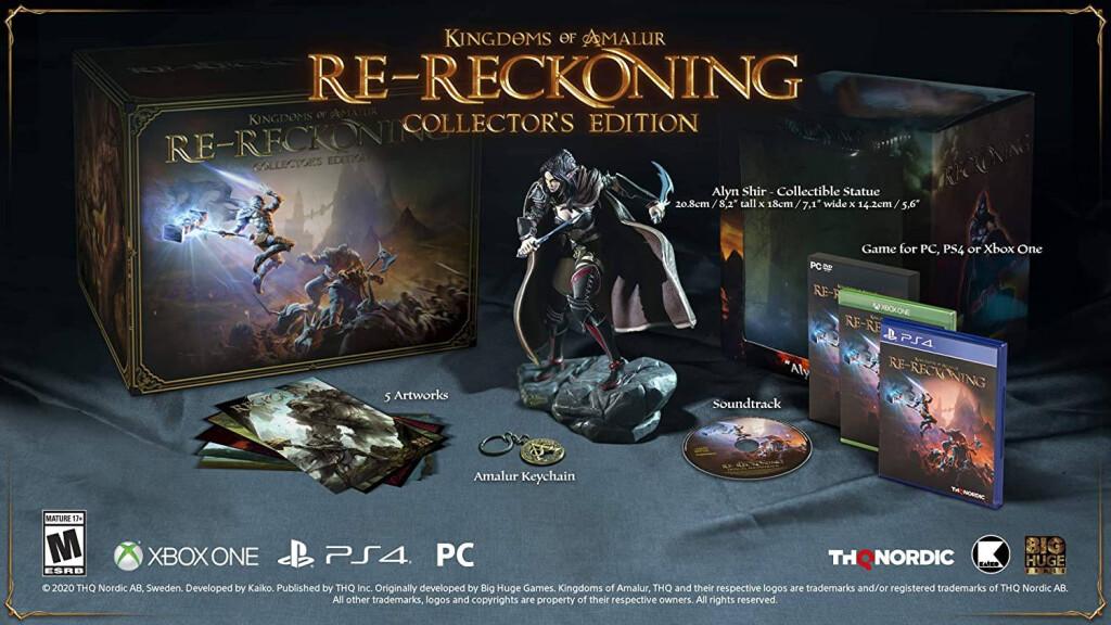 Коллекционное издание Kingdoms of Amalur: Re-Reckoning