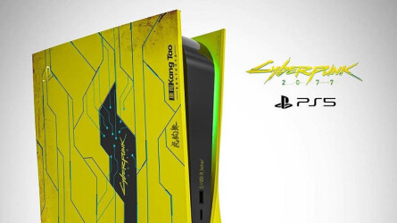 Концепты PlayStation 5 в стиле Cyberpunk 2077, Horizon: Forbidden West и Gran Turismo 7