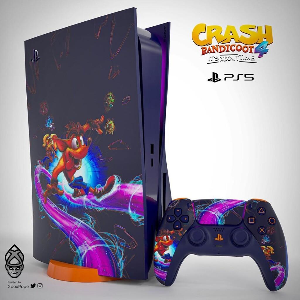 Концепты PlayStation 5