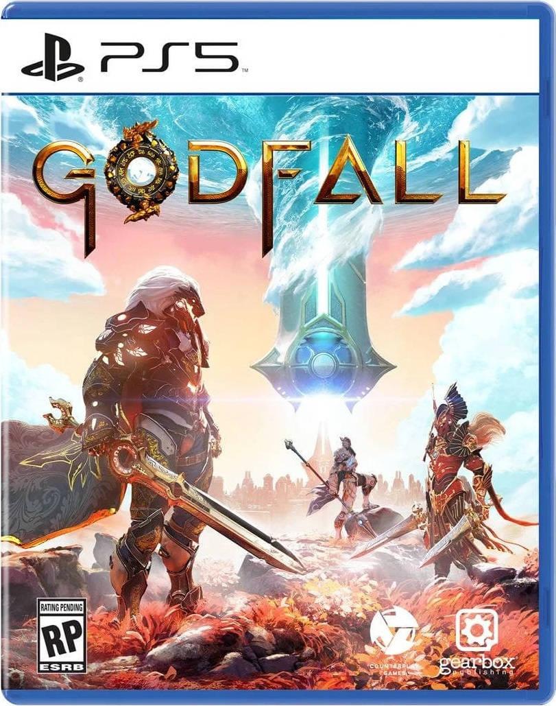Обложка игры Godfall для PS5