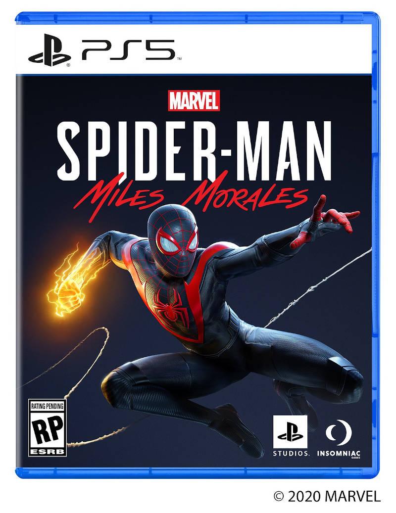 Обложка Marvel's Spider-Man: Miles Morales