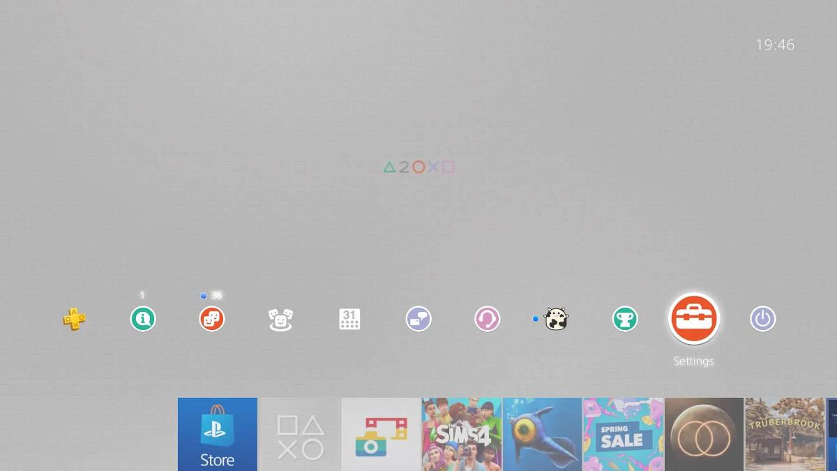 Тема к 20-ти летнему юбилею PlayStation